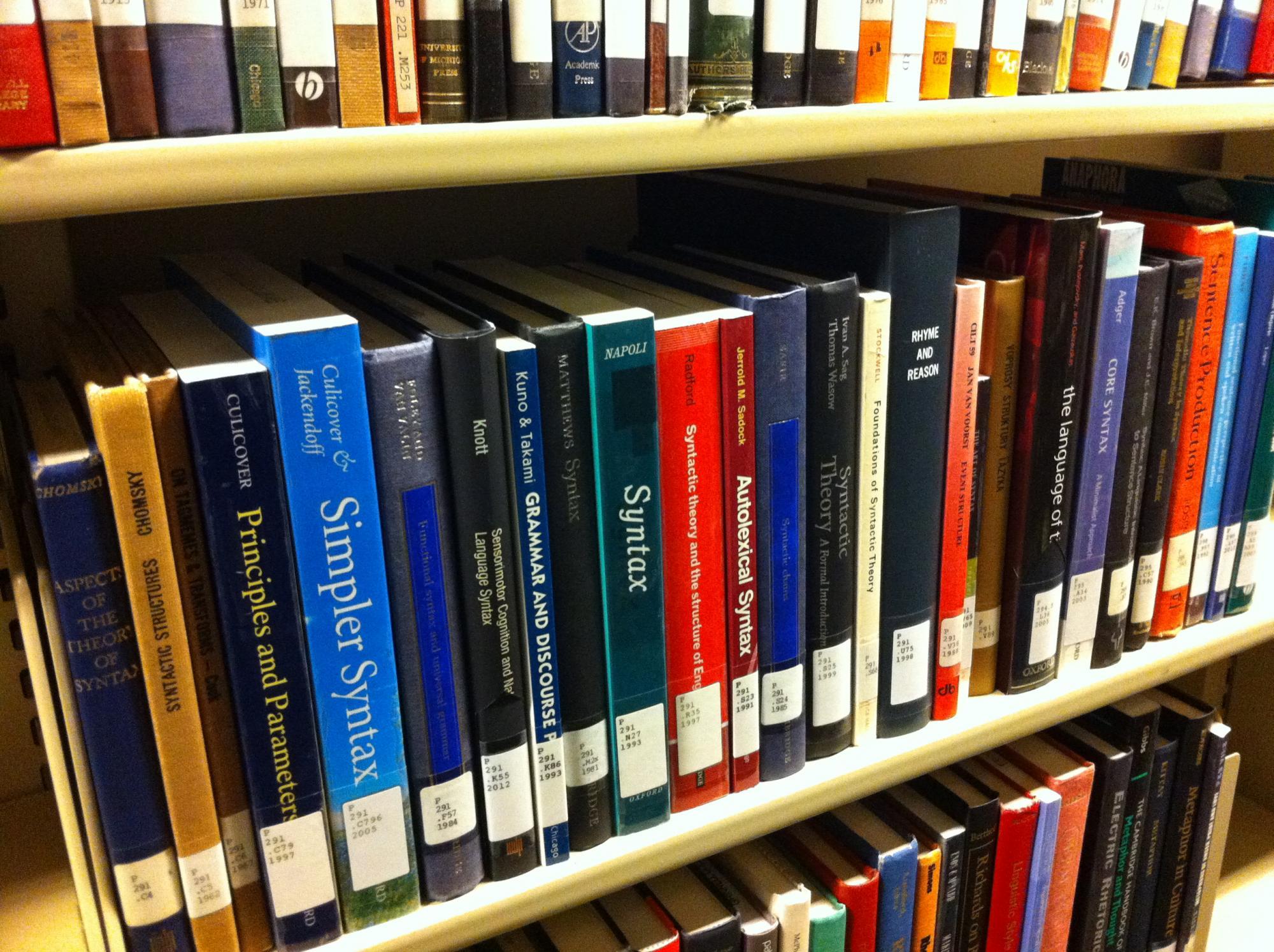 Linguistics books