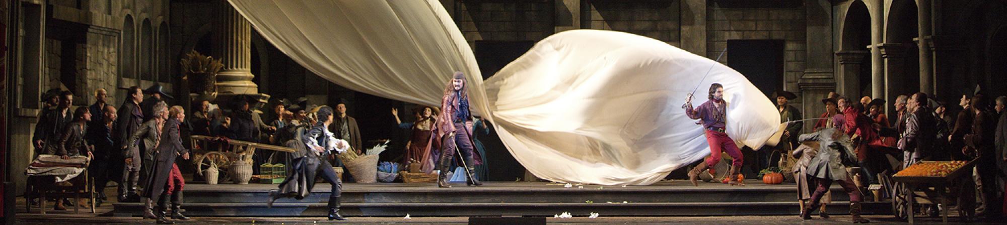 Scene from Met Opera's Romeo et Julliette