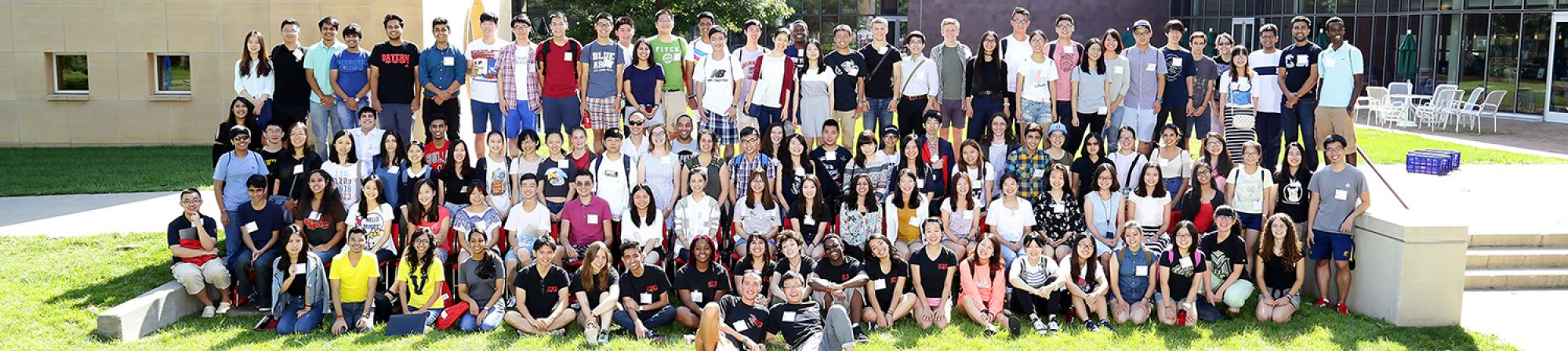 2016 Grinnell College International Pre-Orientation Program participants