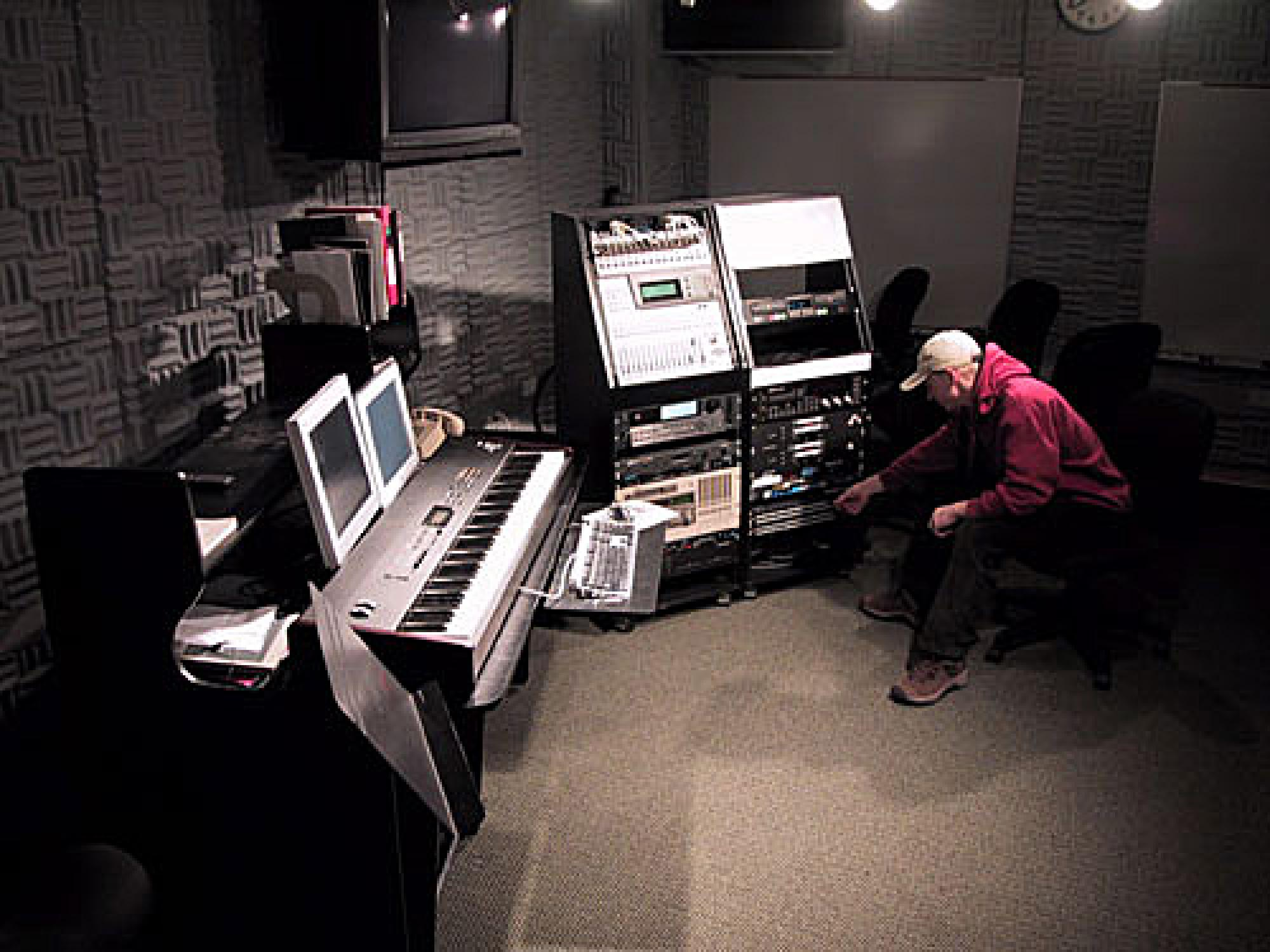 Bucksbaum Electronic Music Studio