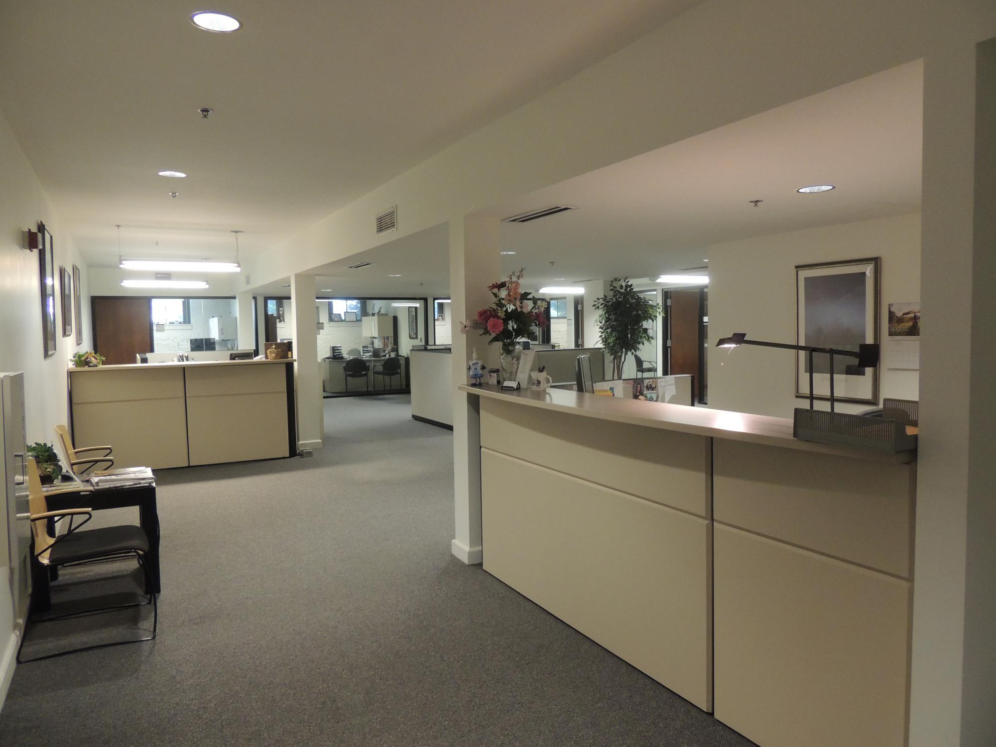 Human Resources reception area