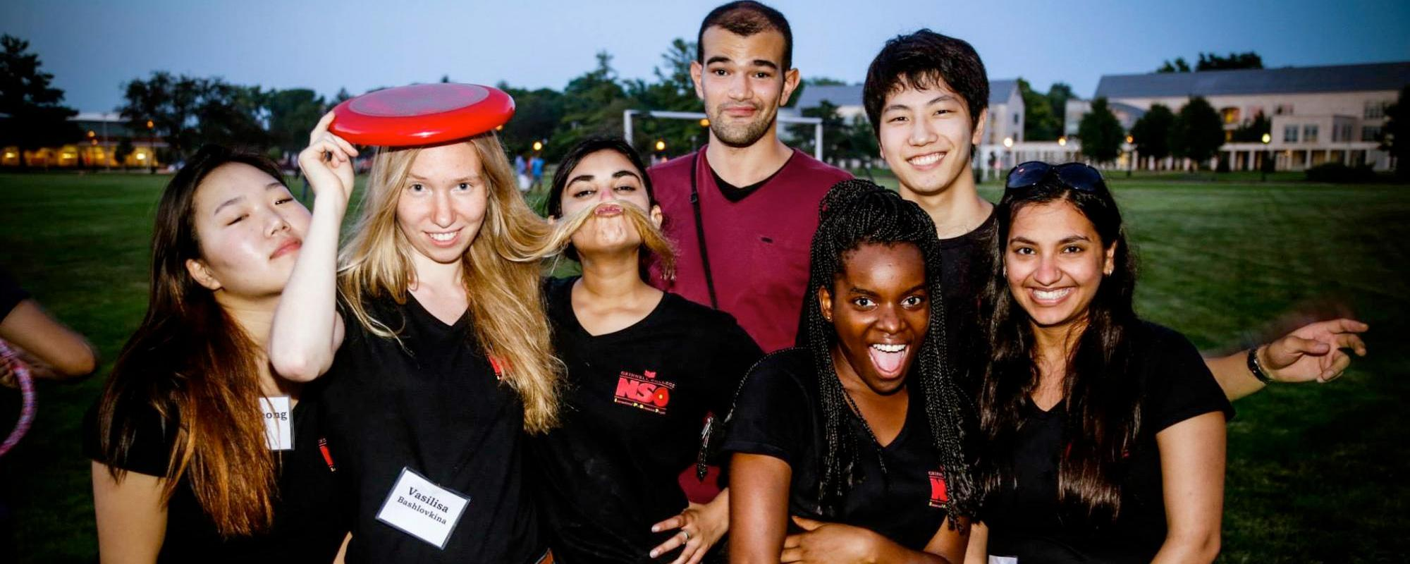 International Pre-Orientation Program students get to know each other
