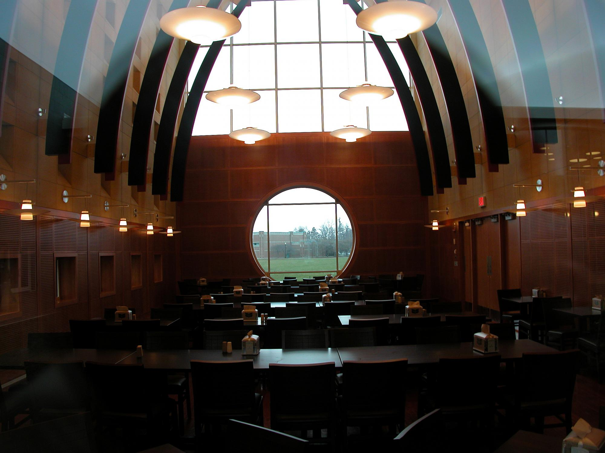 Whale Room in the Marketplace campus dining facility