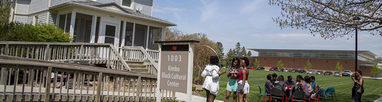 Students at Kimbo Black Cultural Center