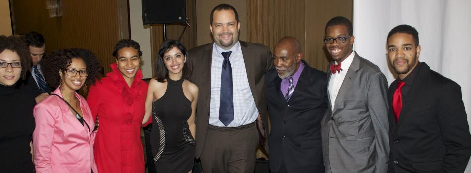 Brigid Carmichael, Alexis Hudson, Brittney Silver, Nilob Nahib, Benjamin Todd Jealous (the president of NAACP ) Arnold Woods