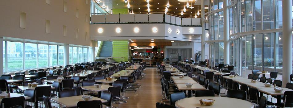 Marketplace campus dining facility
