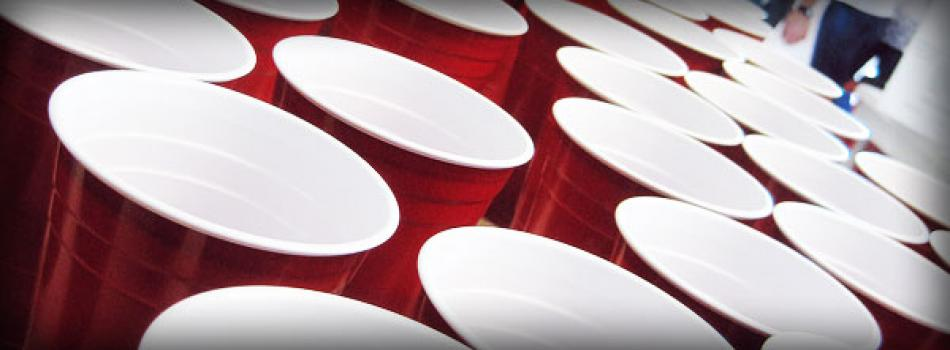 Red party cups