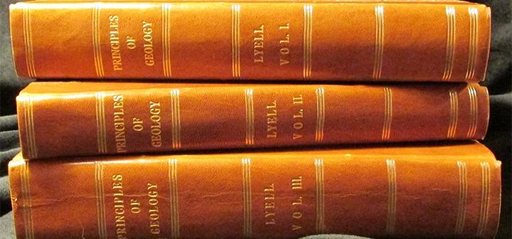3 Volumes of Principles of Geology