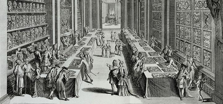 detail of Elenchus tabularum