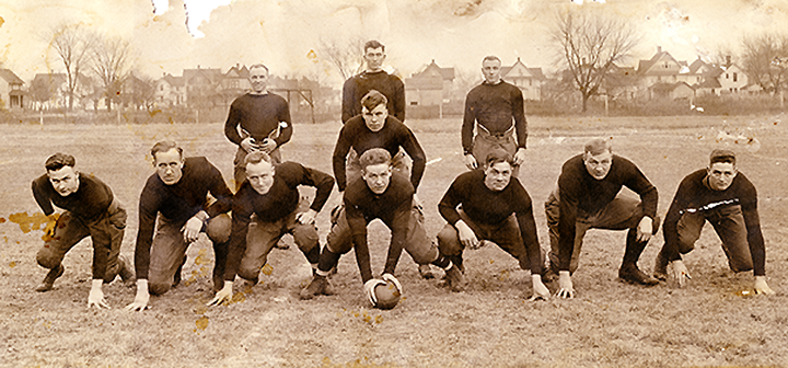 1917 Grinnell College Football team
