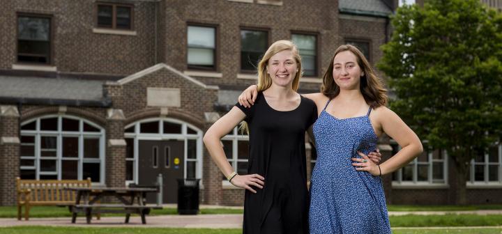 Lauren MacKenzie and Tula Fuchs