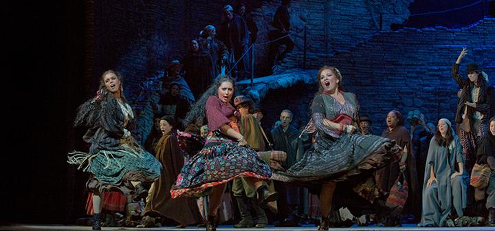 Scene from Met Opera's Carmen