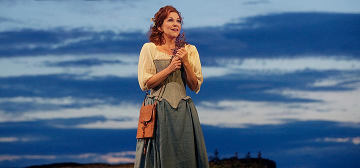Scene from Met Opera's La Donna Del Lago