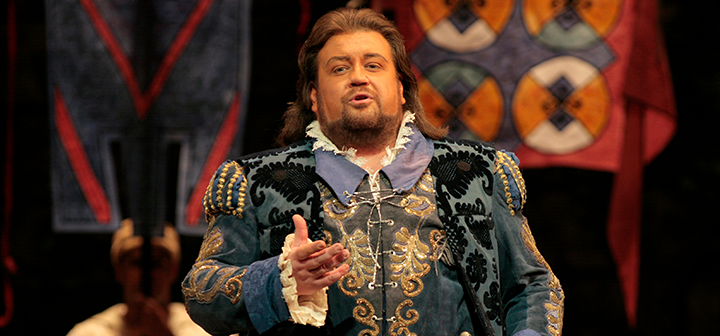 Scene from Met Opera's Die Meistersinger Von Nürnberg