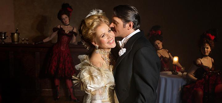 Scene from Met Opera's The Merry Widow