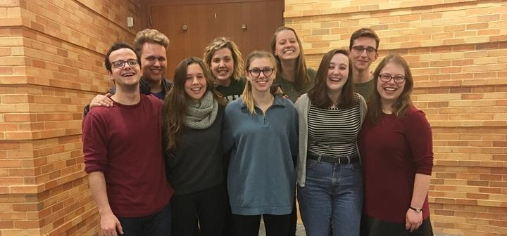 Con Brio a capella group, Fall Semester 2017