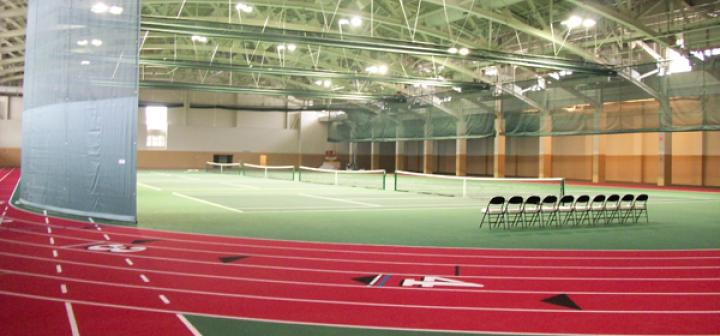interior of fieldhouse