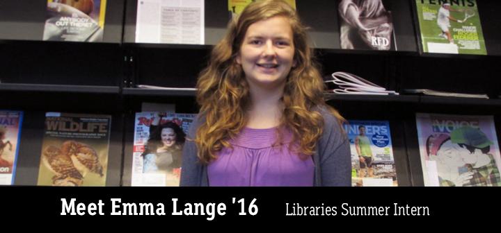 Emma Lange '16