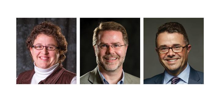Sarah Purcell, Mark Christel, and David Cook-Martin