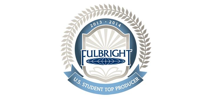 Top Student Fulbright Producer 2013-14