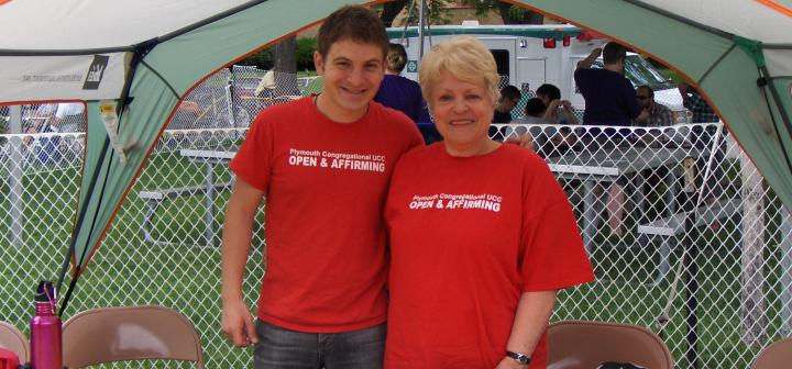 Jake Joseph '11 and Linda Koolbeck Smith '61