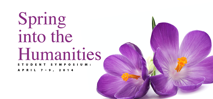 Spring into the Humanities poster