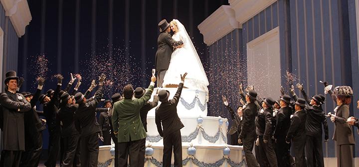 Scene from Met Opera's La Cenerantola