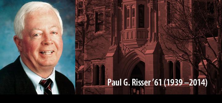 Paul Risser '61