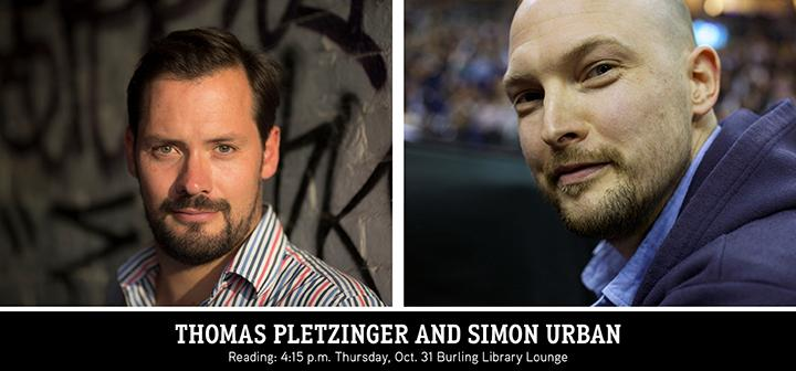 Thomas Pletzinger and Simon Urban