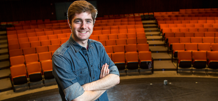 Teddy Hoffman in theatre