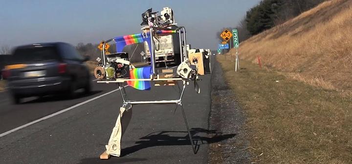 still from video showing video cameras