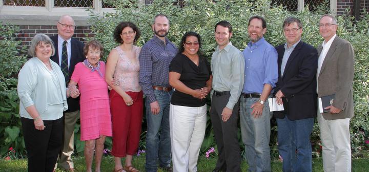 2012 Alumni Award winners