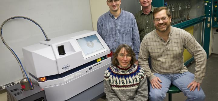 NSF grant X-ray diffractometer