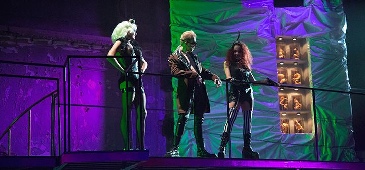 Benjamin Doehr '16 completed a summer MAP studying stage lighting for The Rocky Horror Picture Show