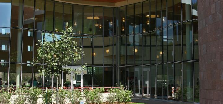 Joe Rosenfield '25 Center Courtyard