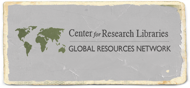 Center for Research Libraries (CRL): Global Resources Network
