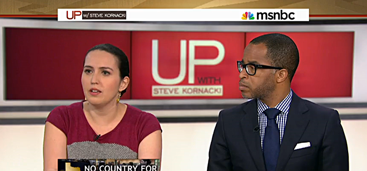 Abby Rapoport on MSNBC's Up with Steve Kornacki