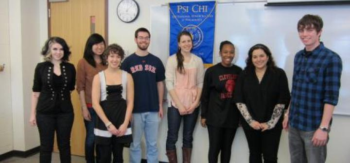 Spring 2013 Psi Chi inductees