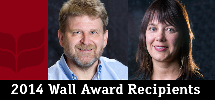 2014 Wall Award winners