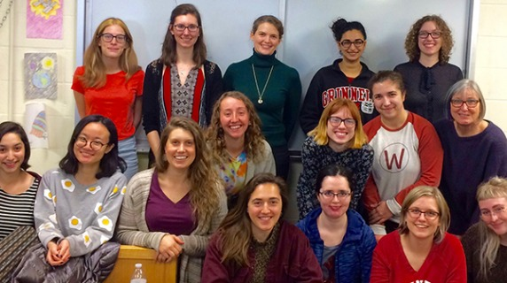 Members of the Women and Gender Minorities in Physics group