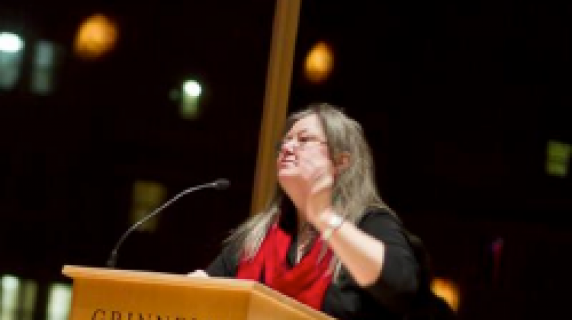 Dorothy Allison at Grinnell College