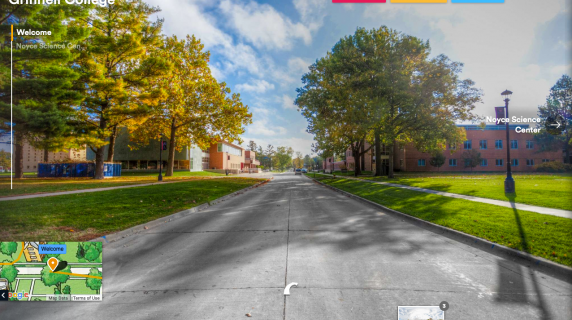 Screenshot from Virtual Tour