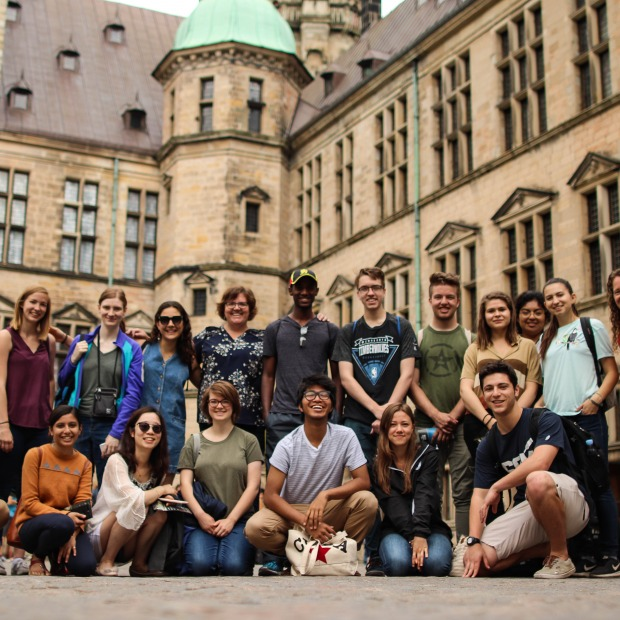 Global Health excursion to Kronborg Castle in Denmark