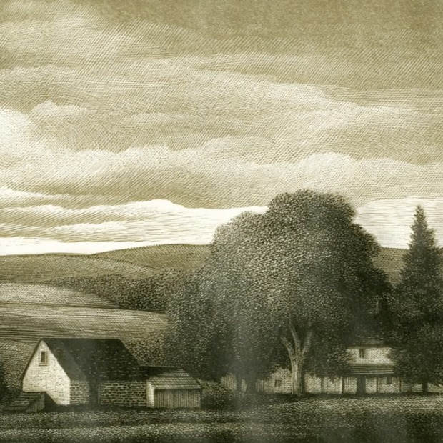 Pennsylvania Landscape by Thomas Willoughby Nason