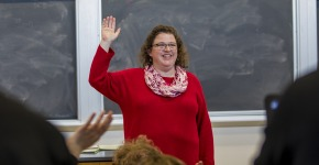 Sarah Purcel, L F Parker Professor of History, teaches in Noyce