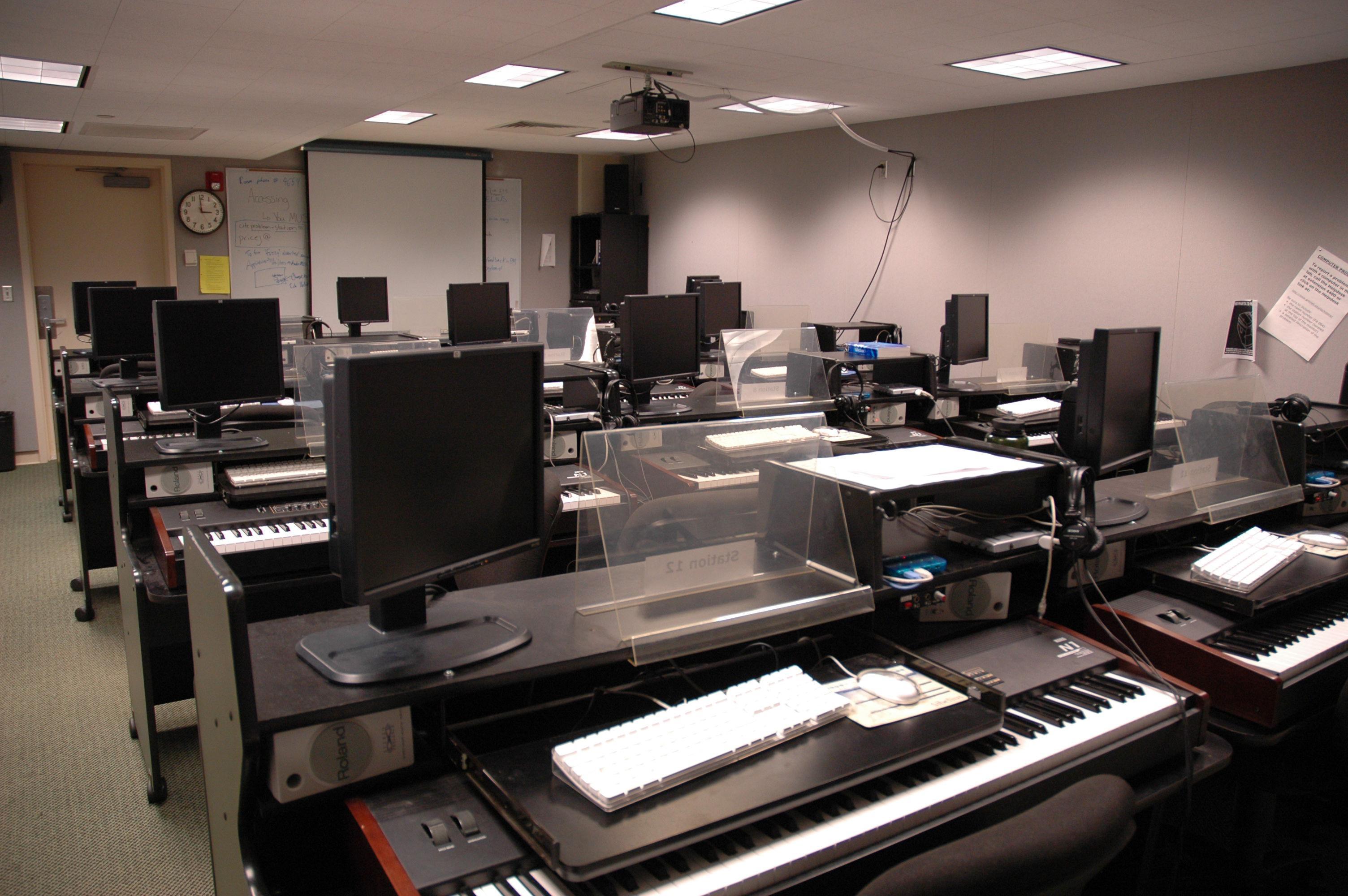 Bucksbaum Keyboard Lab
