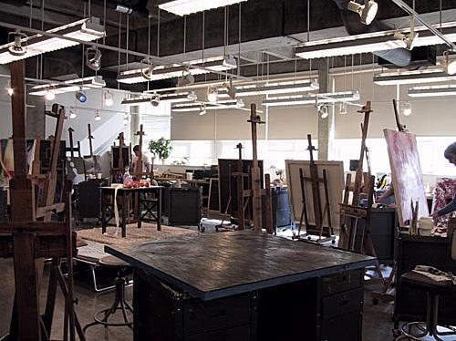 Bucksbaum Painting Studio