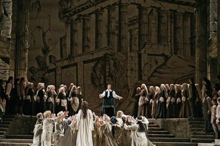 Still from the Met Opera's Ideomeneo live in hd