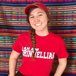 """I'm proud to be a Grinnellian because I have the ability to constantly engage with people who are passionate about so many different things and want to share what they learn with others.""—Lizzy Hinman '20 of Asheville, NC • • 📣 Future Grinnellians: show us your Grinnell pride using #grinnell2024"