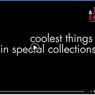 Our very own Special Collections librarian Christoper Jones shares five of the Special Collections staff's favorite things. Good work! Find the video on our facebook page: https://www.facebook.com/GrinnellCollegeLibraries/  #specialcollections #archives #grinnellcollege